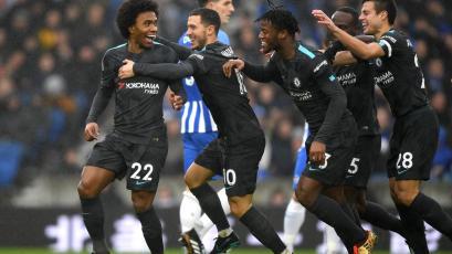 Chelsea fue implacable contra el Brighton