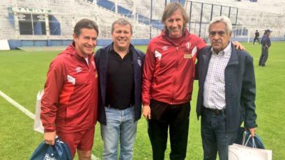 Rusia 2018: Conoce al integrante del cuerpo técnico de Perú que jugó contra Dinamarca en un Mundial