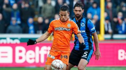 Cristian Benavente fue titular en la victoria del Sporting Charleloi