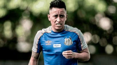 Christian Cueva volvió al Santos y fue multado