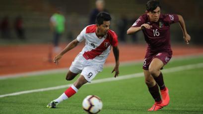 Sudamericano Sub 17: Perú igualó sin goles ante Venezuela