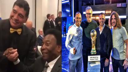 Sorteo Mundial: Pelé, Maradona y los ex cracks que están presentes en la ceremonia