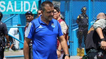 """Claudio Vivas sobre Ortiz: """"Estamos contentos de su nivel y esperamos que siga así"""""""