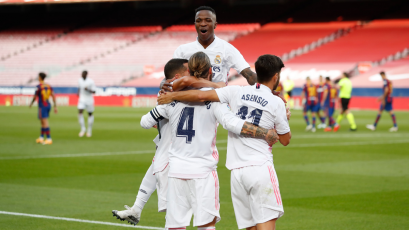 Real Madrid se impuso en el Camp Nou y venció 3-1 al Barcelona