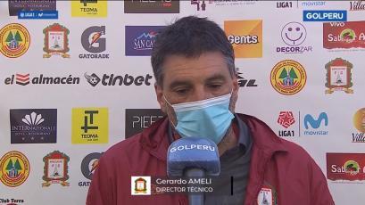 """Gerardo Ameli sobre el triunfo de Ayacucho FC: """"El equipo mostró mucha personalidad"""" (VIDEO)"""