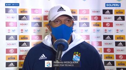 "Roberto Mosquera: ""Seguimos jugando a lo que nos comprometimos, pelota al piso"""