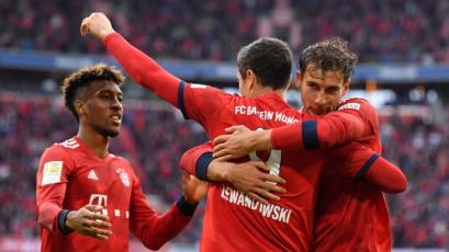 Bayern superó al Hannover y quedó a un paso de ser campeón