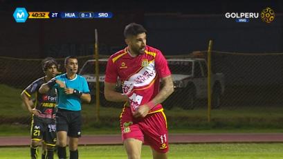 Sport Huancayo rescató un empate sobre el final ante Sport Rosario