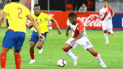 Perú cayó con Ecuador en el penúltimo amistoso del año