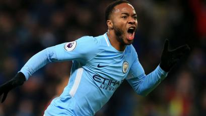 Premier League: ¡Agónico! Sterling le dio al triunfo al City por cuarta vez en los descuentos