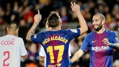 Copa del Rey: Barcelona goleó 5-0 al Murcia
