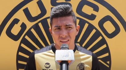 """Miguel Carranza: """"Nos estamos preparando para darle una alegría a la gente de Cusco FC"""""""