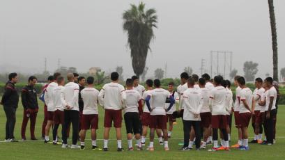 Universitario prepara el partido contra San Martín