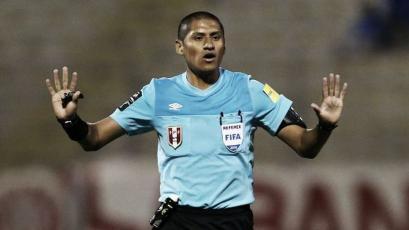 Michael Espinoza arbitrará la primera final de la Liga1 Movistar