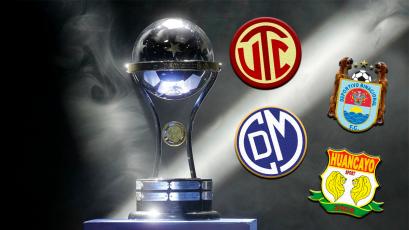 Copa Sudamericana: Así quedaron las llaves de los clubes peruanos
