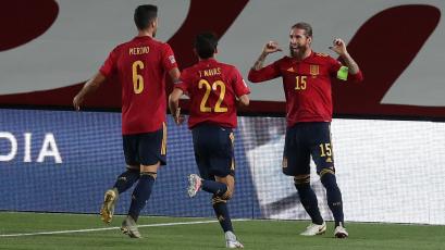 UEFA Nations League: España goleó y Alemania todavía no puede ganar en el torneo