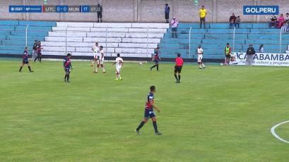 UTC y Deportivo Municipal empataron 2-2 en Cajabamba