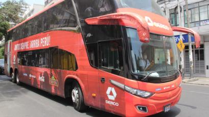 FPF puso a disposición el bus de la Selección Peruana para movilizar al personal de salud