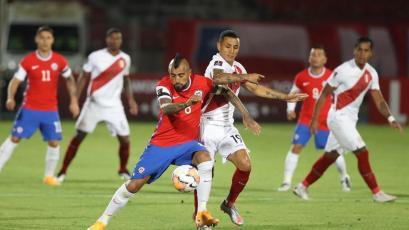 Clasificatorias Sudamericanas: Perú perdió de visita por 2-0 frente a Chile en la tercera jornada (VIDEO)