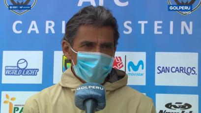 """Juan Carlos Bazalar: """"Hemos enfrentado a un Sporting Cristal colectivamente bien preparado"""" (VIDEO)"""