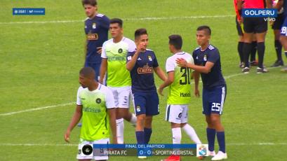 Pirata FC y Sporting Cristal no se sacaron diferencias en Olmos