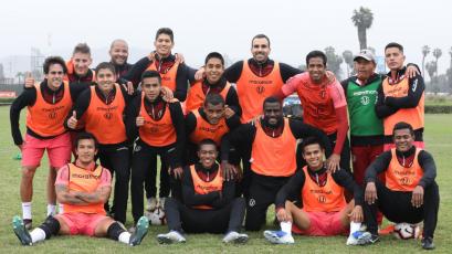 Universitario de Deportes prepara el partido contra Los Caimanes por la Copa Bicentenario (FOTOS)