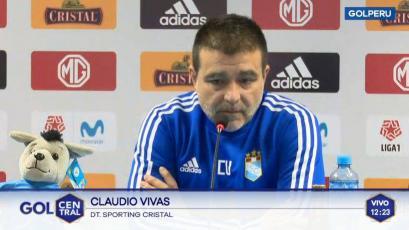 """Claudio Vivas: """"No importa que Alianza Atlético sea de la Liga2, lo importante es hacer un buen partido"""""""