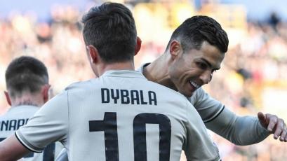 Paulo Dybala le da un nuevo triunfo a la Juventus