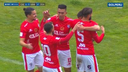 Liga1 Movistar: Cienciano goleó a San Martín y consiguió su primer triunfo en el Torneo Apertura (VIDEO)