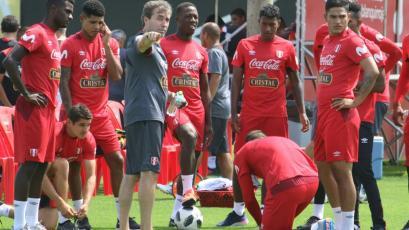 Selección Peruana sumó su primer día de entrenamiento de cara al Mundial