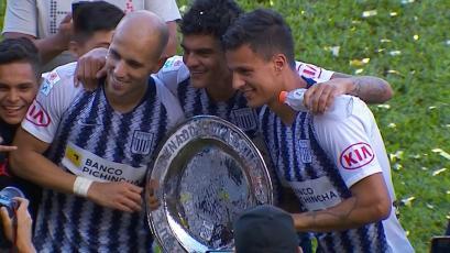 Alianza Lima ganó el Torneo Clausura tras derrotar a Unión Comercio en Moyobamba