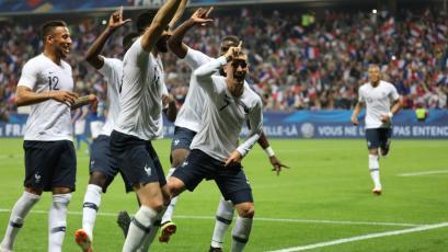 Francia superó a Italia en amistoso internacional