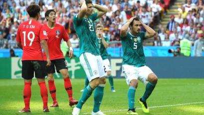 Rusia 2018: Corea del Sur eliminó a Alemania en los descuentos (2-0)