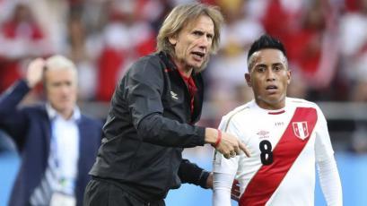 "Ricardo Gareca: ""Juan Román Riquelme me preguntó por Christian Cueva"