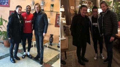 Selección Peruana: Ricardo Gareca se reunió con Farfán y Cueva