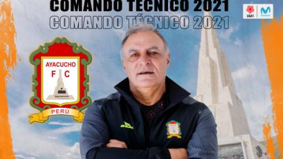 Liga1 Movistar: Ayacucho FC presentó a los integrantes de su comando técnico