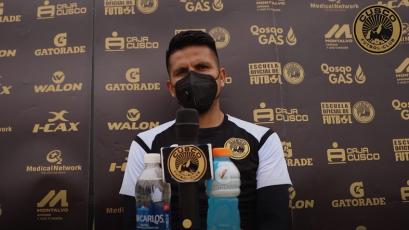"""Janio Pósito de Cusco FC: """"El partido contra Sport Boys será una final más"""""""