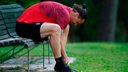 Milan: Zlatan Ibrahimovic se lesionó y temen una rotura del tendón de Aquiles