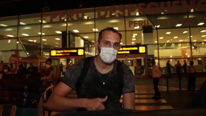 Alianza Lima: Hernán Barcos llegó a Perú y se alista para sumarse al plantel
