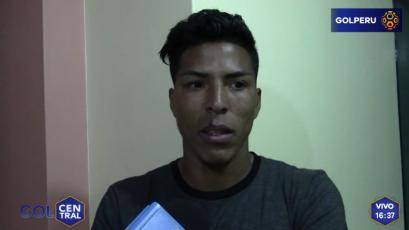 """Carlos Uribe: """"Cristal saldrá a definir el torneo con nosotros"""""""