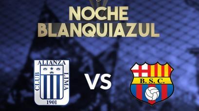 Alianza Lima se medirá con Barcelona de Ecuador en la 'Noche Blanquiazul'