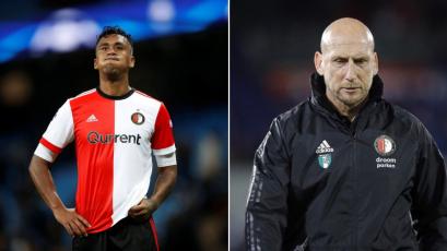 Renato Tapia se quedó sin técnico en el Feyenoord tras renuncia de Jaap Stam