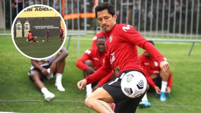 Selección Peruana: Gianluca Lapadula anotó tremendo golazo en la práctica a días del partido con Ecuador (VIDEO)