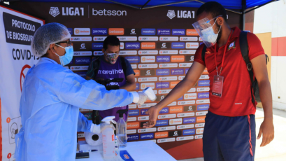 Liga1 Betsson: conoce el estricto protocolo de bioseguridad del campeonato