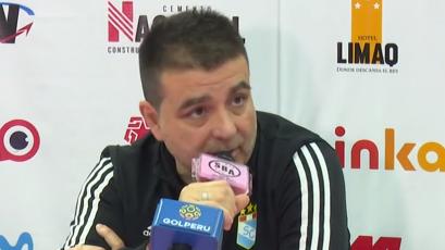 """Claudio Vivas: """"Sport Boys nos sorprendió en el segundo tiempo"""""""