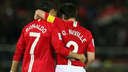 Gary Neville llenó de elogios a Cristiano Ronaldo tras su inmensa carrera
