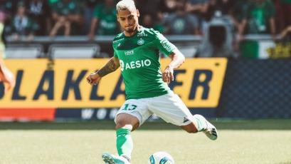 Ligue 1: Miguel Trauco vio acción en el empate del Saint-Étienne con el Reims