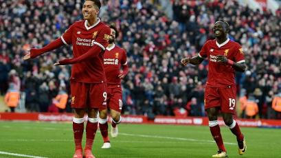 Liverpool golea y es 2° en Premier League