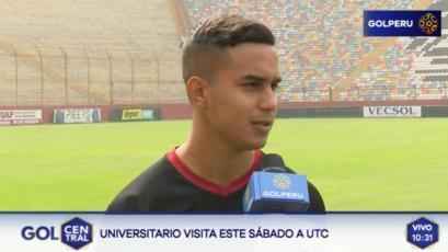"""Jesús Barco: """"UTC es un equipo complicado y más si juega en Cajabamba"""""""