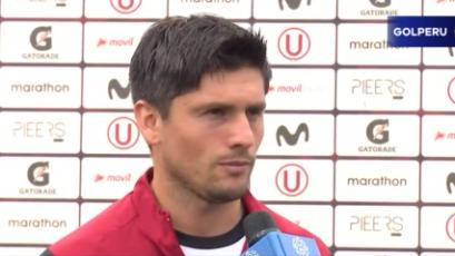 """Diego Manicero: """"Estamos enfocados en el partido contra Cristal"""""""